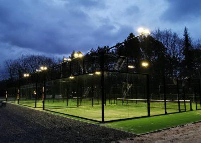 Squash en Wellness Bussum / 3 padelbanen