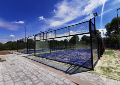 "Tennisvereniging ""Cromwijck"" / 2 padelbanen"
