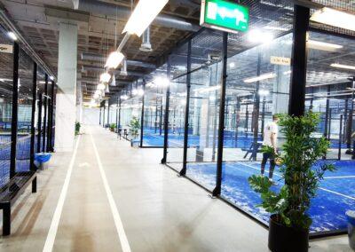 B-Amsterdam / 4 padelbanen indoor