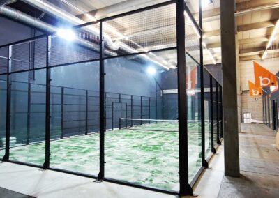 Blokker/ 1 padelbaan indoor