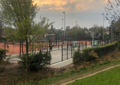 Strijdo Oosterhout / 2 padelbanen